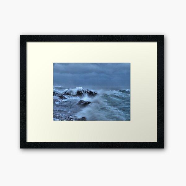 Savage Seas Framed Art Print