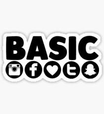 Basic Social Media Sticker