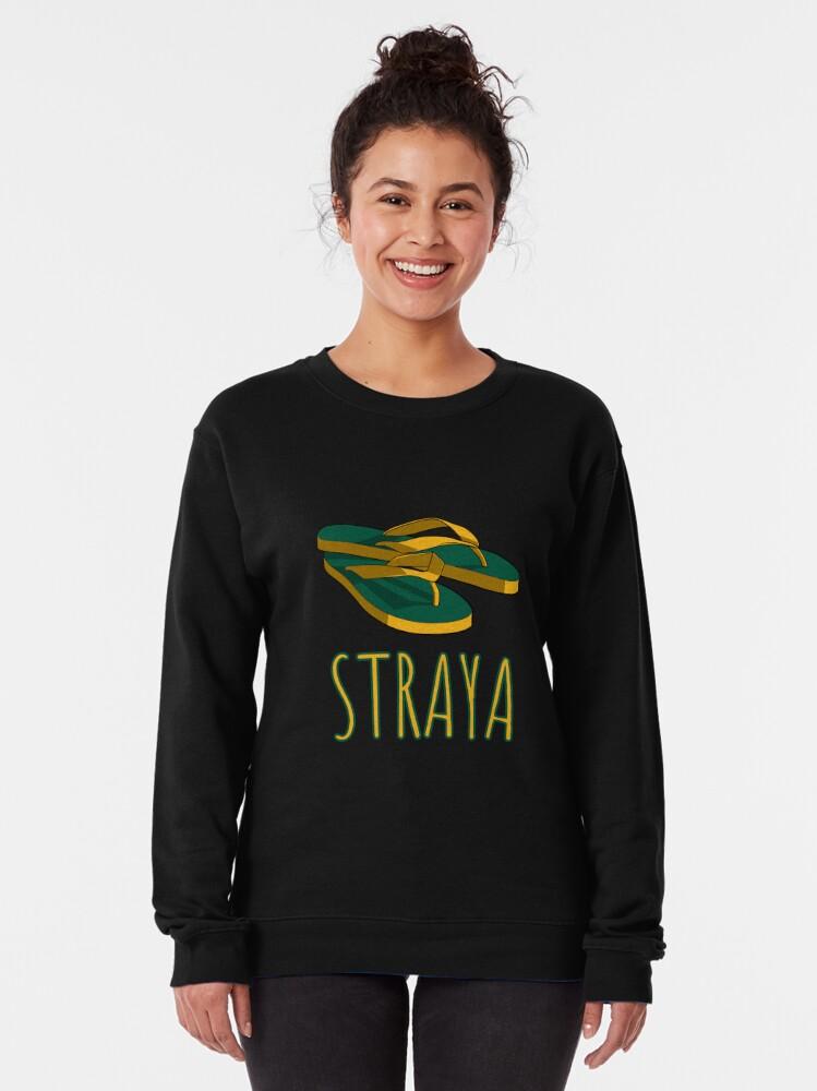 Alternate view of Straya Thongs Pullover Sweatshirt
