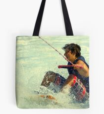 Timo in action....... Tote Bag