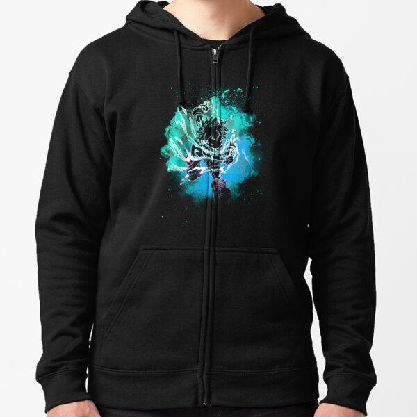 Soul of the Black Whip Zipped Hoodie