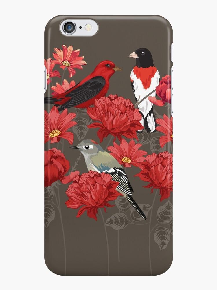 Vögel und Rosen von Judit Gueth