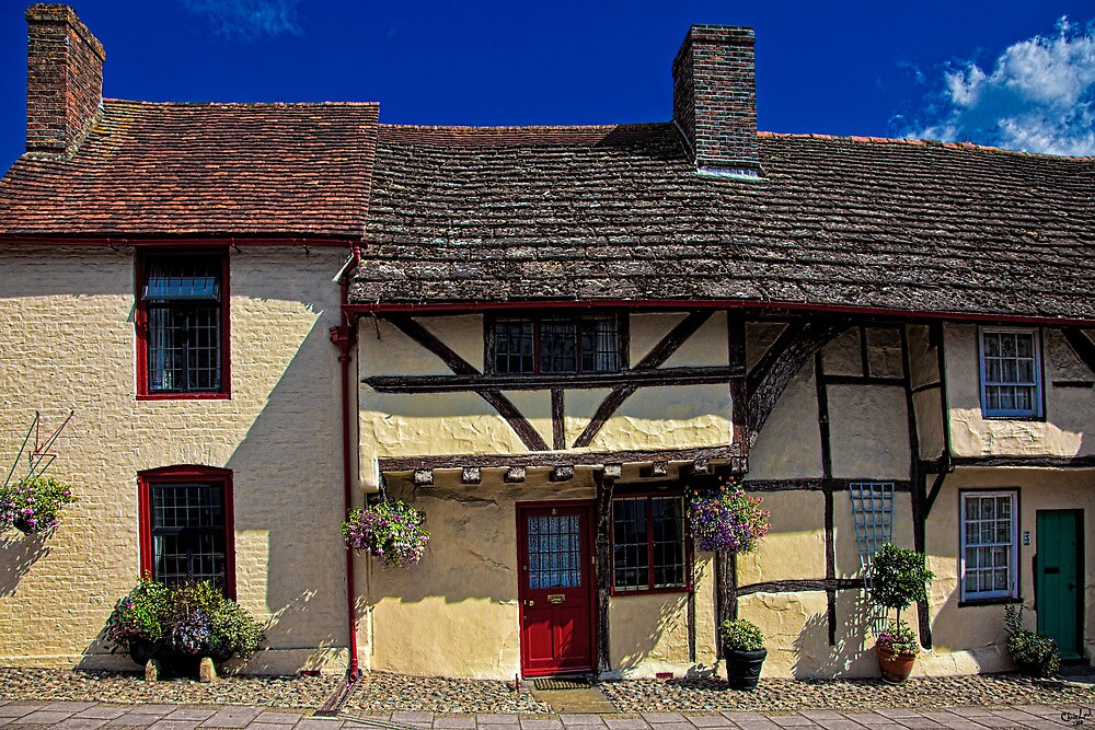 Village Tudors by Chris Lord