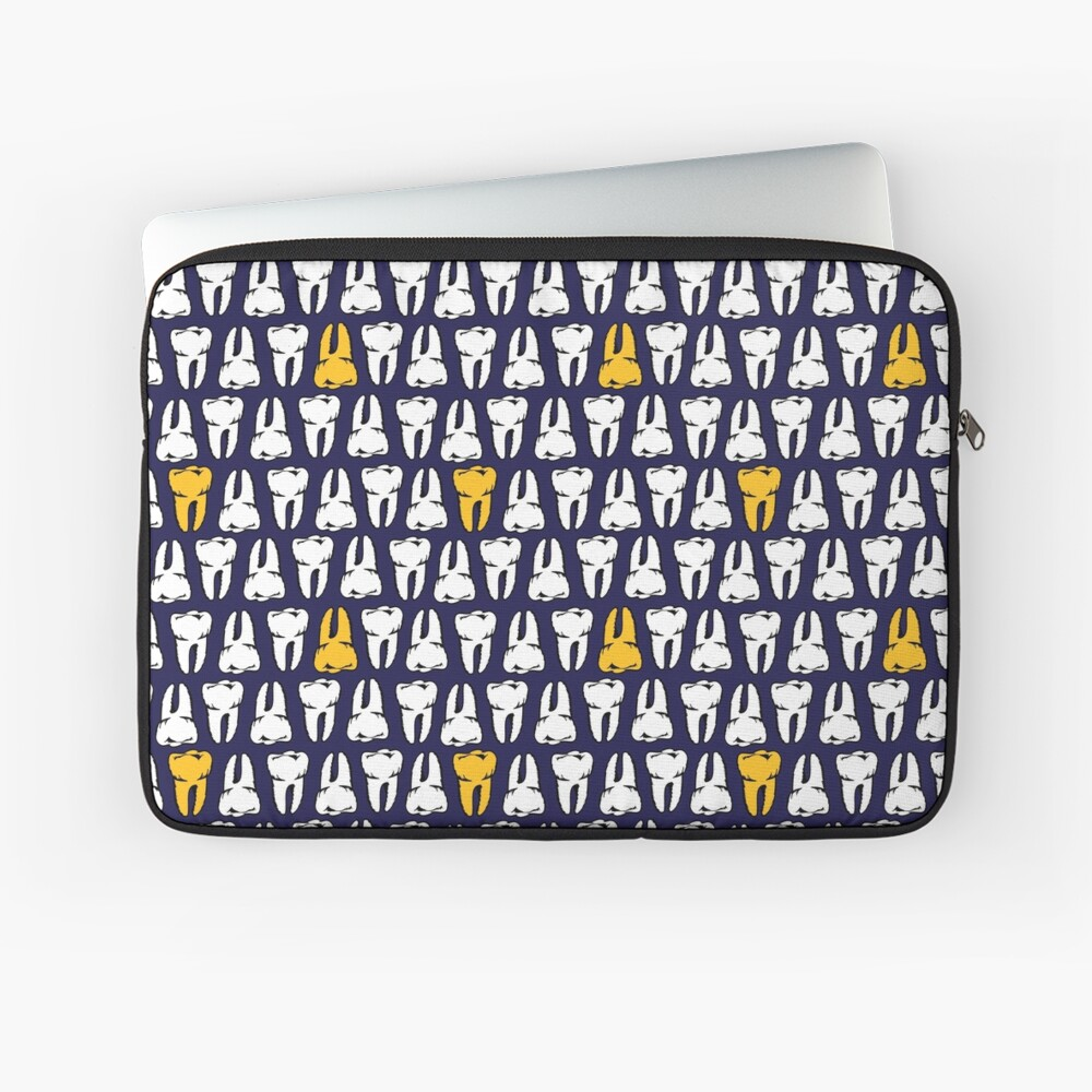 Gold Tooth Laptop Sleeve