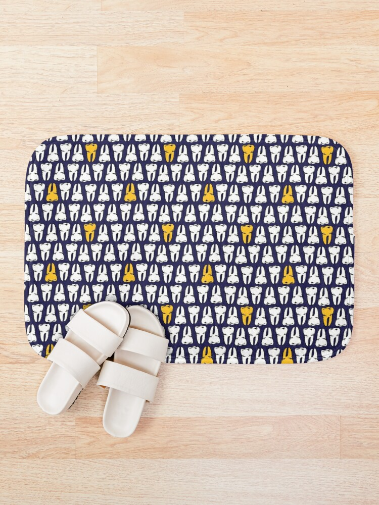 Alternate view of Gold Tooth Bath Mat