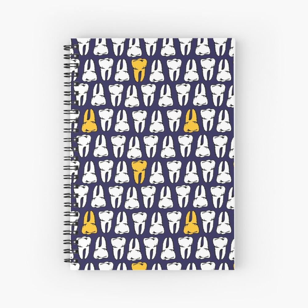 Gold Tooth Spiral Notebook