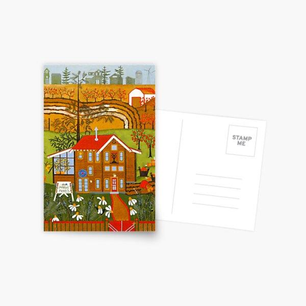 """Hortense's Herbs"" greeting card Postcard"