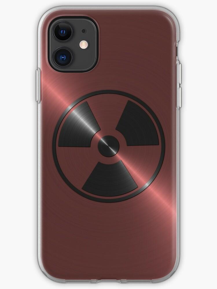 coque iphone 8 radioactive