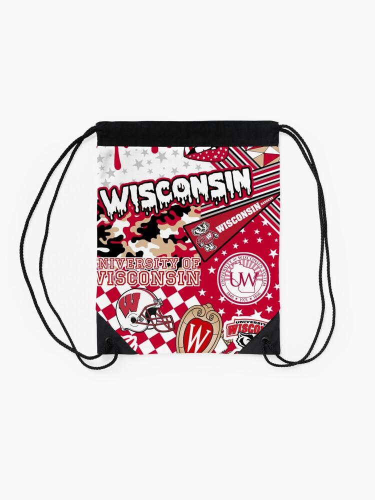 Alternate view of Wisconsin Drawstring Bag