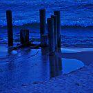Blue Lake by Sandra Guzman