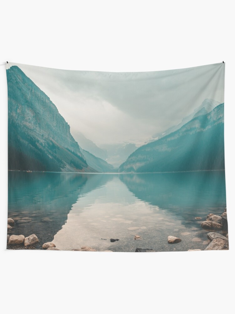 Alternate view of Lake Louise, Canada Wall Tapestry