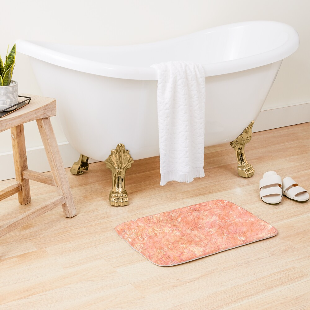 Watercolour Bath Mat