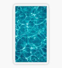 Water - Elements Transparent Sticker