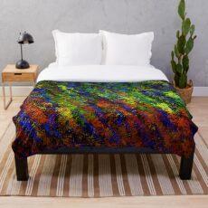 Mehrfarben-Opal Fleecedecke