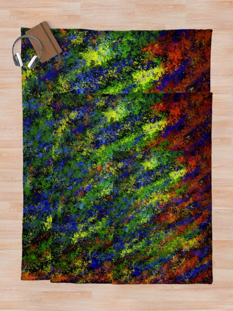 Alternate view of Multi-Colour Opal Throw Blanket
