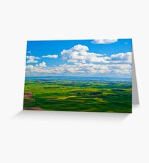 The Palouse from Steptoe Butte Greeting Card