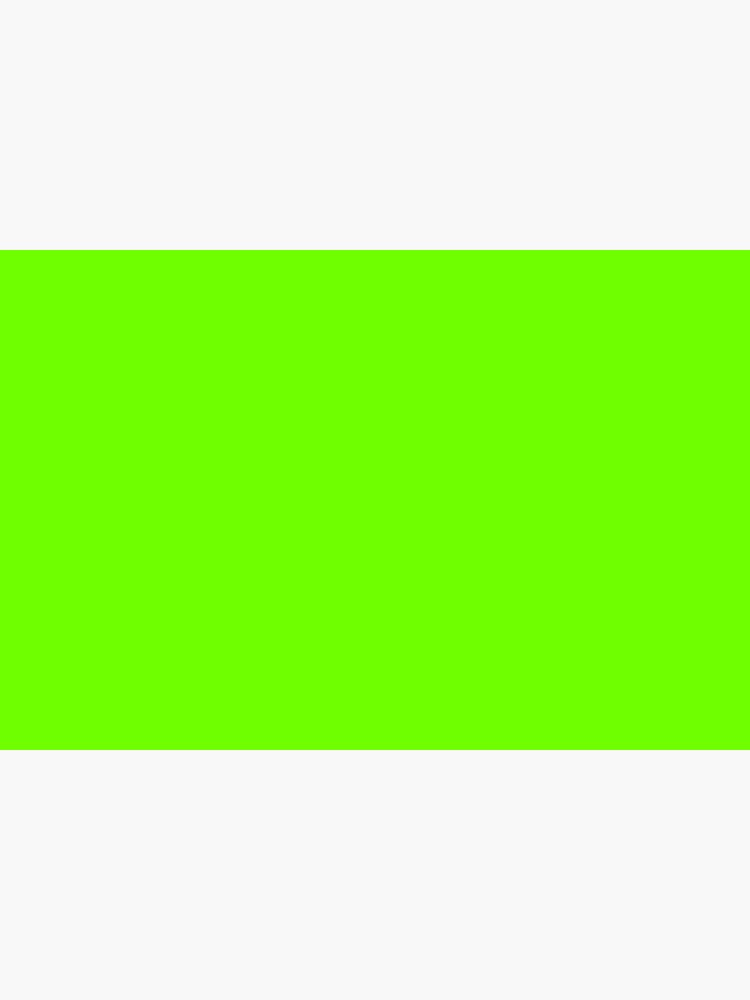 Super Bright Fluorescent Green Neon by podartist