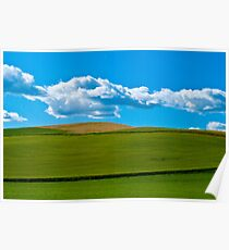 Palouse Wheatfields Poster