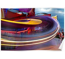 Newcastle Hoppings: Whoosh Poster