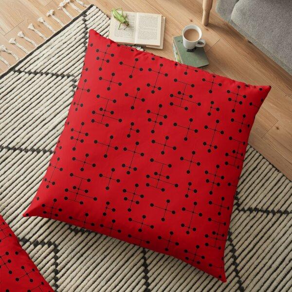 Midcentury Modern Dots 109 Floor Pillow
