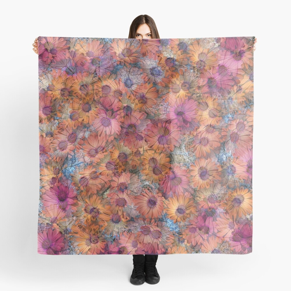 AFRICAN DAISY MADNESS Scarf