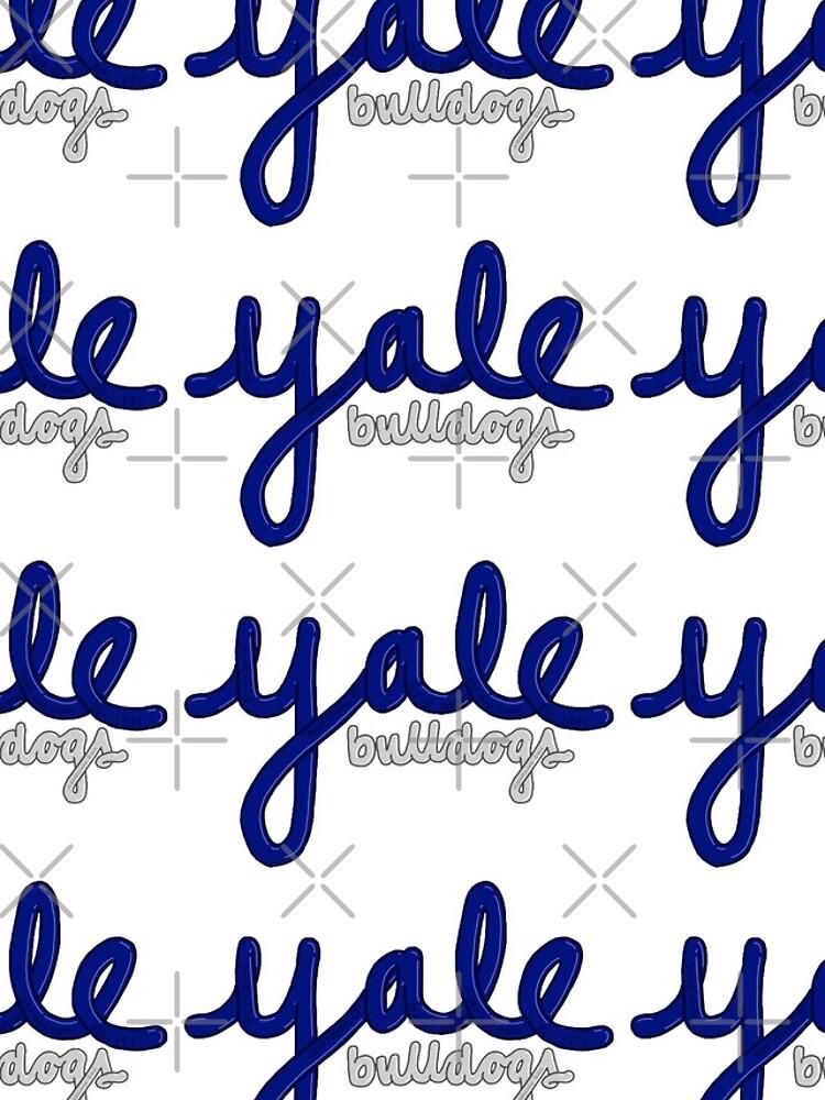 u0026quot yale bulldogs bubble letters u0026quot  iphone case  u0026 cover by