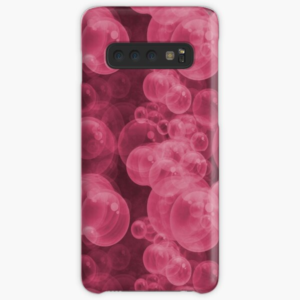 Small Pink Water Air Bubbles Samsung Galaxy Snap Case