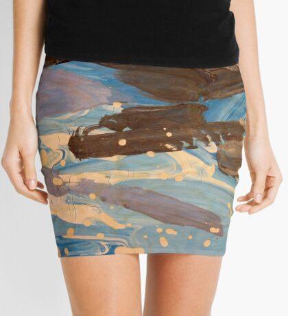 Big Cloud Mini Skirt