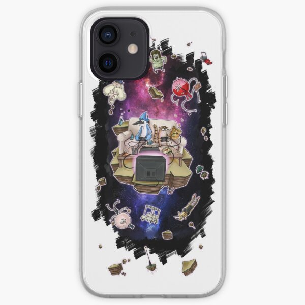 Regular Show lost in space iPhone Soft Case