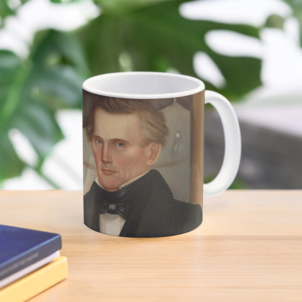 Vermont Lawyer Oil Painting by Horace Bundy Mug