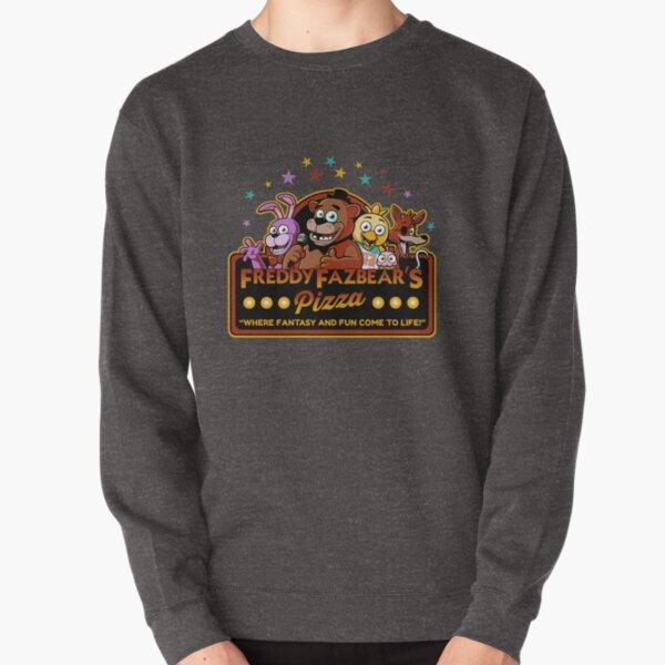 Five Nights at Freddy's Freddy Fazbear's Pizza FNAF logo Pullover Sweatshirt