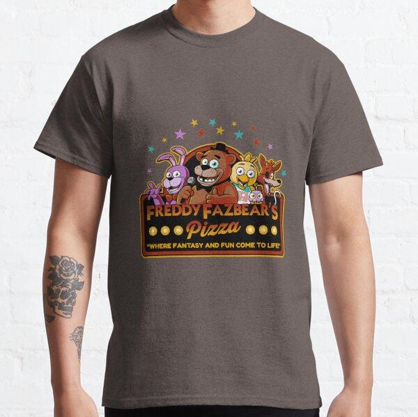 Five Nights at Freddy's Freddy Fazbear's Pizza FNAF logo Classic T-Shirt