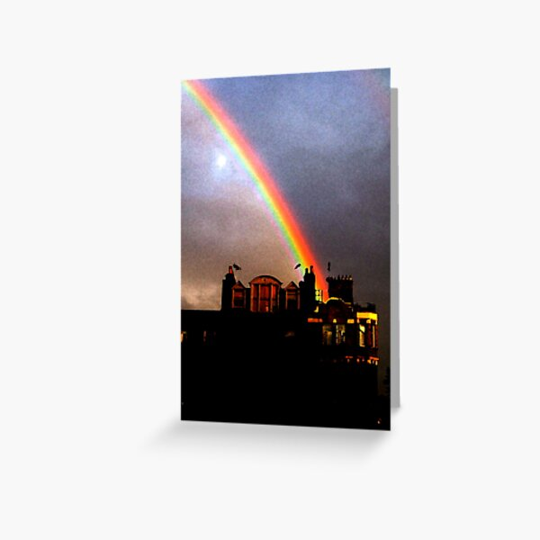Rainbow in Fitzrovia Greeting Card