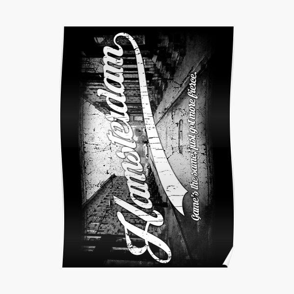 Hamsterdam - Cloud Nine Edition (White) Poster