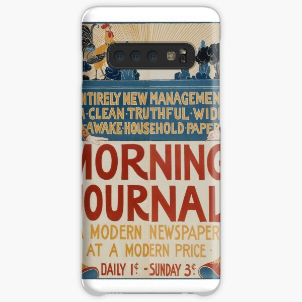 Vintage Poster for the Morning Journal Newspaper Samsung Galaxy Snap Case