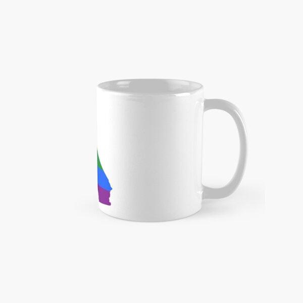 LGBT Flag Map of California  Classic Mug
