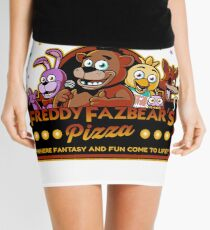 Fünf Nächte in Freddys Freddy Fazbears Pizza FNAF Logo Minirock