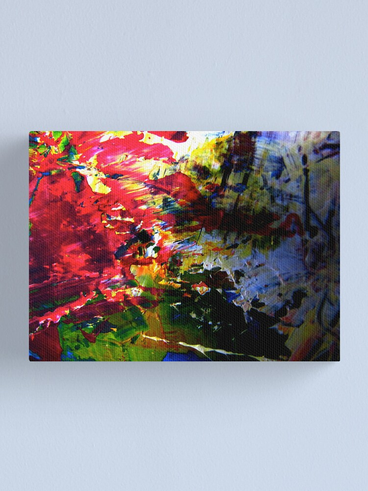 Alternate view of The Tray Canvas Print