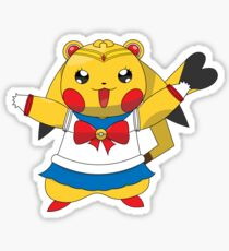 Sailor Pikachu Sticker