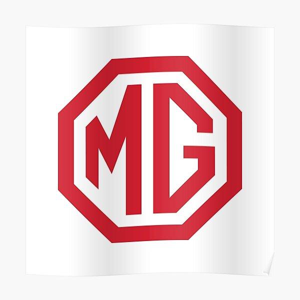 MG Logo Poster