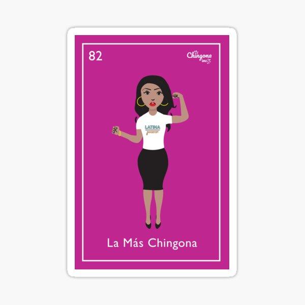 La Más Chingona Sticker