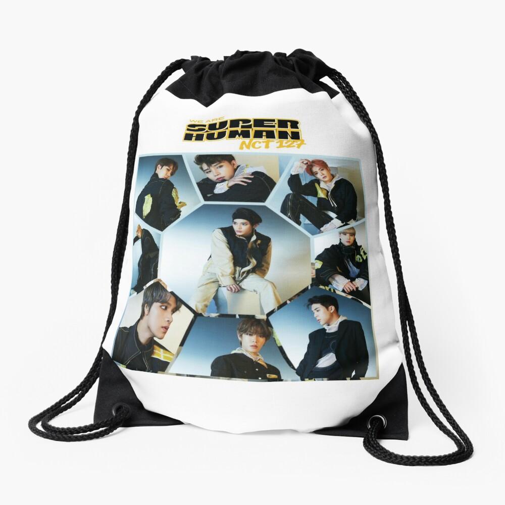 NCT 127 - Superhuman 04 Drawstring Bag