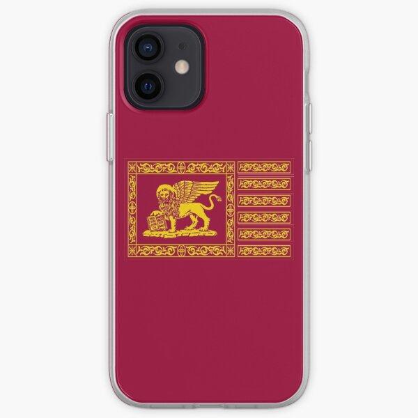 Bandera veneciana Funda blanda para iPhone