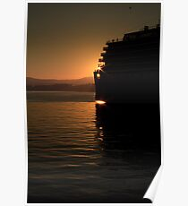 Sunset Cruise Poster