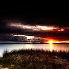 Stormy Sunset by Sheldon Pettit