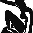 Matisse schnitt Schwarzes der Abbildung # 1 heraus von ShaMiLaB