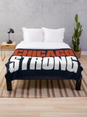 Chicago Strong Fan Throw Blanket