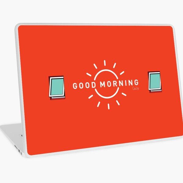 Good Morning, my city. Laptop Skin
