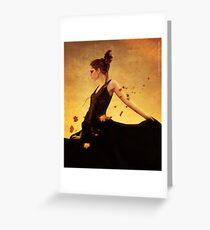 autumn wind Greeting Card