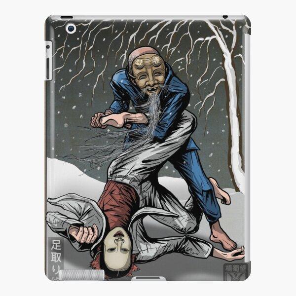 Noh mask jiu-jitsu iPad Snap Case
